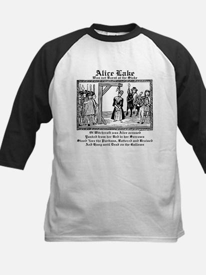 Alice Memorial 3 Kids Baseball Jersey