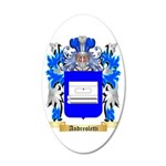 Andreoletti 35x21 Oval Wall Decal