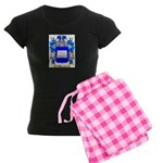 Andreoli Women's Dark Pajamas