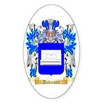 Andreotti Sticker (Oval 10 pk)