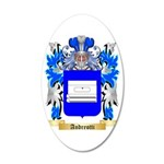 Andreotti 35x21 Oval Wall Decal
