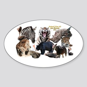 SA Zoo Sticker