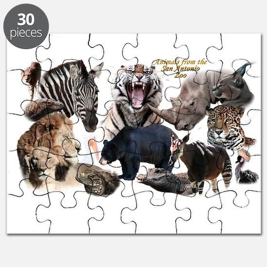 SA Zoo Puzzle