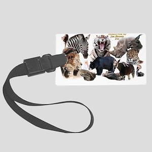 SA Zoo Luggage Tag