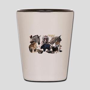 SA Zoo Shot Glass