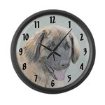 Leonberger Large Wall Clock