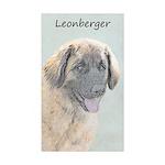 Leonberger Sticker (Rectangle 50 pk)