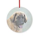 Leonberger Round Ornament