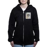 Leonberger Women's Zip Hoodie