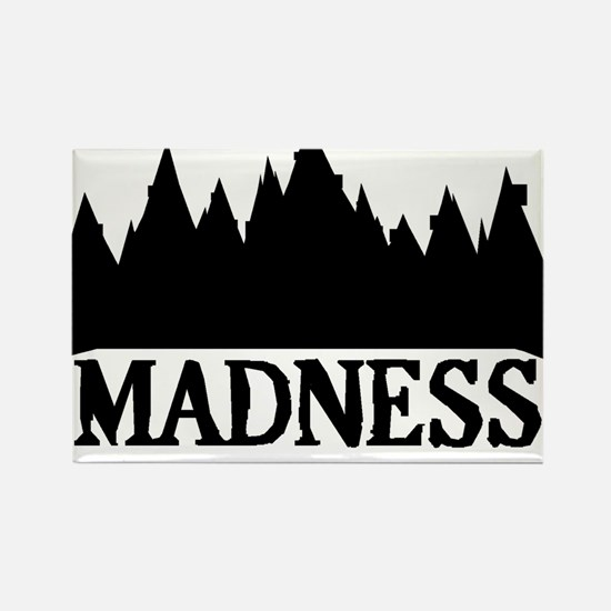 At The Mountains Of Madness Rectangle Magnet
