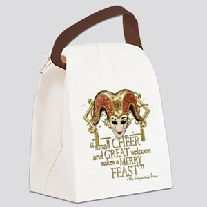 comedyoferrors-gold Canvas Lunch Bag