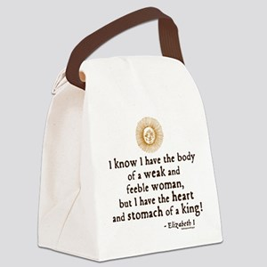 quote11 Canvas Lunch Bag