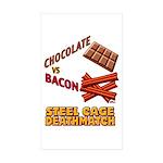 chocolate-vs-bacon-2011w Sticker (Rectangle 10 pk)
