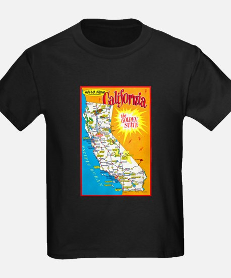 California Map Greetings T