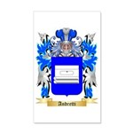 Andretti 35x21 Wall Decal