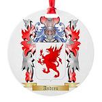 Andreu Round Ornament