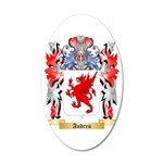 Andreu 35x21 Oval Wall Decal