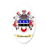 Andrewes Oval Car Magnet