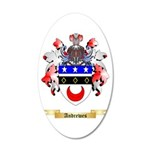 Andrewes 20x12 Oval Wall Decal
