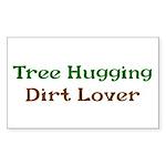 Tree Hugger Sticker (Rectangle 10 pk)