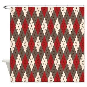 Argyle Shower Curtains