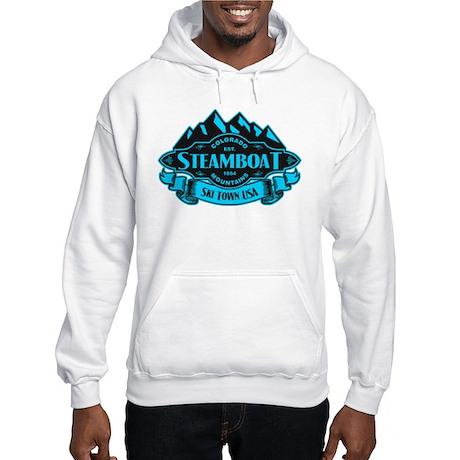 Steamboat Mountain Emblem Hooded Sweatshirt