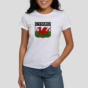 Wales Coat of Arms Women's T-Shirt