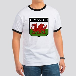 Wales Coat of Arms Ringer T