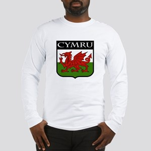 Wales Coat of Arms Long Sleeve T-Shirt