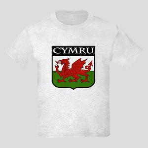 Wales Coat of Arms Kids Light T-Shirt