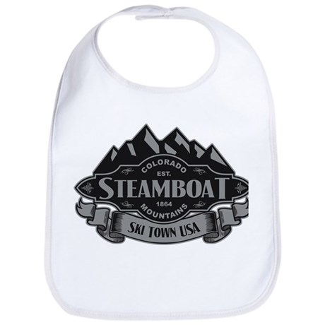 Steamboat Mountain Emblem Bib