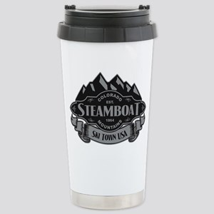 Steamboat Mountain Emblem Stainless Steel Travel M