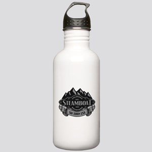 Steamboat Mountain Emblem Stainless Water Bottle 1