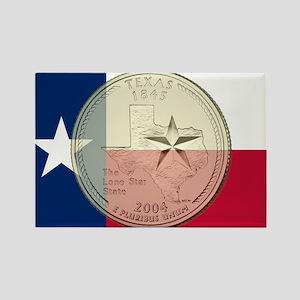 Texas Quarter 2004 Magnets