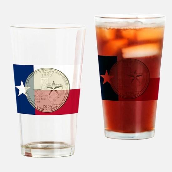 Texas Quarter 2004 Drinking Glass