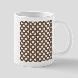 Dots on Gray Mug