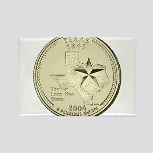 Texas Quarter 2004 Basic Magnets