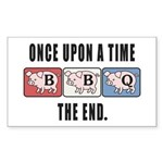 BBQ Fairy Tale Sticker (Rectangle 10 pk)