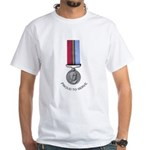 Proud to Serve White T-Shirt