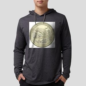 Tennessee Quarter 2014 Basic Mens Hooded Shirt