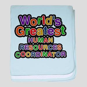 Worlds Greatest HUMAN RESOURCES COORDINATOR baby b
