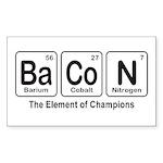 BaCoN Sticker (Rectangle 10 pk)