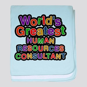 Worlds Greatest HUMAN RESOURCES CONSULTANT baby bl