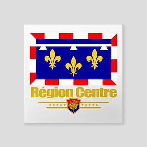 "Centre (Flag 10) Square Sticker 3"" x 3"""