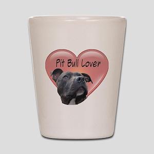 Pit Bull Lover Shot Glass