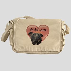 Pit Bull Lover Messenger Bag
