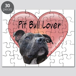 Pit Bull Lover Puzzle