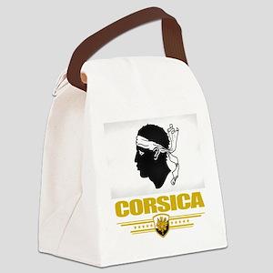 Corsica (Flag 10) Canvas Lunch Bag