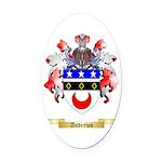 Andrews Oval Car Magnet
