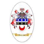 Andrews Sticker (Oval 50 pk)